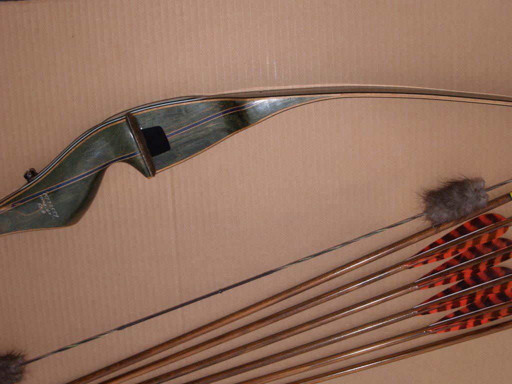 Bow and arrows for turkey season