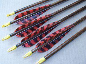 Traditional Cedar Arrows